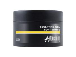 Astonishing Nails LED UV Sculpting Gel Soft White 45 gr