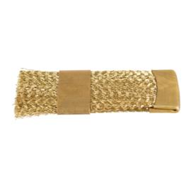 Bit Brush Cleaner Brass