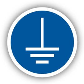 Stickers Aarding verplicht (M005)