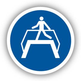 Stickers Oversteekplaats gebruiken (M023)