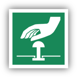 Stickers Noodstop (E020)