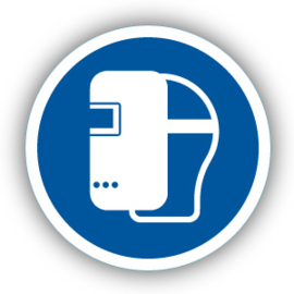Stickers Lasmasker verplicht (M019)