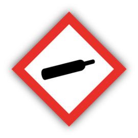 Stickers GHS04 Gassen (onder druk) / Gases (under pressure)