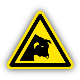 Stickers Stier (W034)