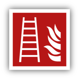 Stickers Ladder / Brandladder (F003)