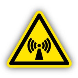 Stickers Niet ioniserende straling (W005)