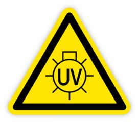 Stickers UV licht
