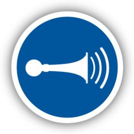 Stickers Geluidssignaal geven (M029)