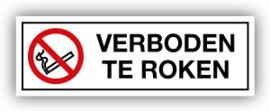 Stickers Verboden te roken