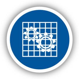 Stickers Bescherming controleren (M027)