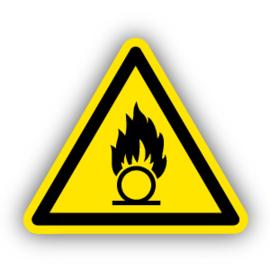 Stickers Oxyderende stoffen (W028)