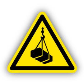 Stickers Hangende last (W015)