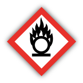 Stickers GHS03 Oxiderend - Oxidizing