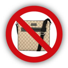Stickers Geen mannentasjes / Manpurses