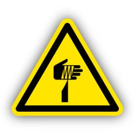 Stickers Gevaar voor scherpe elementen (W022)