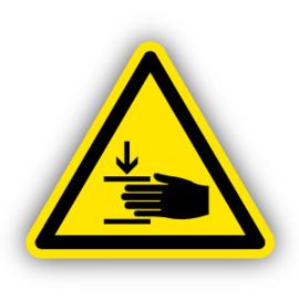 Stickers Verwondingen aan de hand (W024)