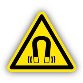 Stickers Sterk magnetisch veld (W006)