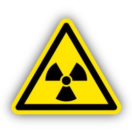Stickers Radioactieve stoffen (W003)