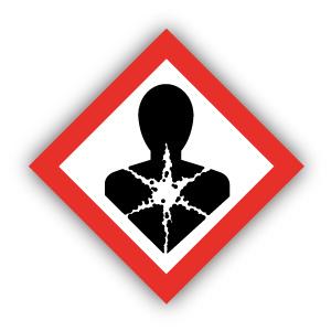 Stickers GHS08 Gezondheidsgevaarlijk / Health damage