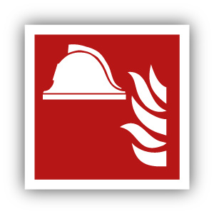 Stickers Brandbestrijdingsmiddelen (F004)