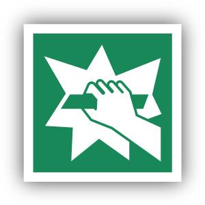 Stickers Breken om toegang te krijgen (E008)