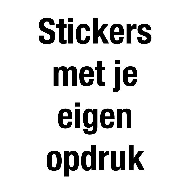 Stickers met je eigen opdruk