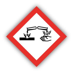 Stickers GHS05 Corrosief / Corrosive
