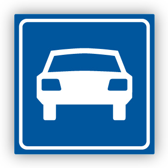 Stickers Autoweg G3