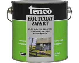 Tenco Houtcoat zwart 2,5L