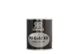 RR PU Gold XD halfglanslak 1 liter