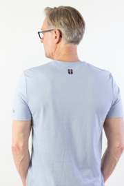 FOR I AM SURE - Gents T-shirt - Light Blue