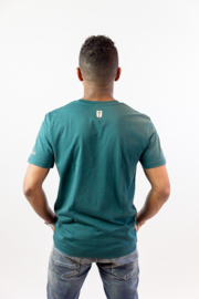 FOR I AM SURE - Heren T-shirt - Forest Green