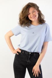Filia Dei  🖤 - Ladies T-shirt - Light Blue