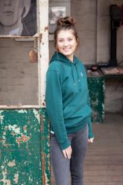 Hoodie – Green - met of zonder 'Amen' tekst - christelijke kleding