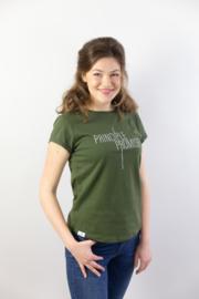 Principle Promise - Ladies T-shirt - Moss Green