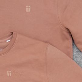 Sweater Unisex – Caramel - met of zonder 'Amen' tekst - christelijke kleding