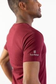 So I send you - Heren T-shirt - Burgundy