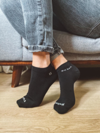 FairRebel Sneakersokken - zwart