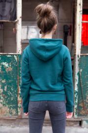Hoodie Unisex – Green - met of zonder 'Amen' tekst - christelijke kleding