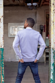 Sweater Unisex – Lava Grey - met of zonder 'Rebel with a cause' tekst