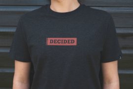 I have decided - christelijk t-shirt
