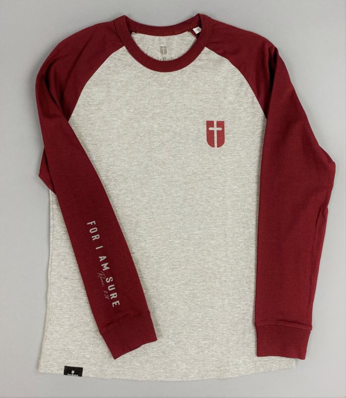 For I am sure - christelijk t-shirt met lange mouwen