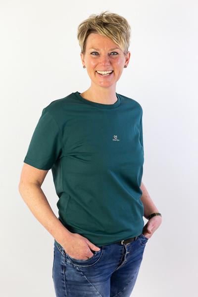 Filia Dei 🖤 - Ladies T-shirt - Forest Green