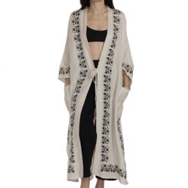 Kaftan / kimono 'Azra' blockprint