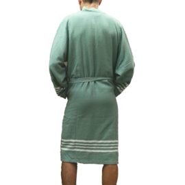 Hamam Bathrobe His/Her Sage