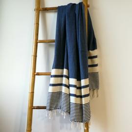 Hammam towel Likya navy