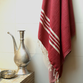 Hammam towel Red