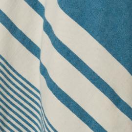 Hamam badjas Likya badstof blauw