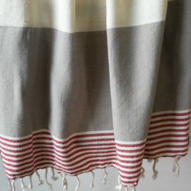 Hamamdoek SPLASH taupe