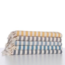 Hammam towel STRIPE Petrol